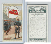 W62-135b Wills, Flags of the Empire, 2nd, 1929, #23 Tanganyka