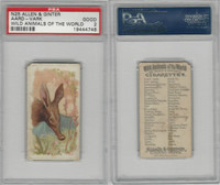 N25 Allen & Ginter, Wild Animals, 1888, Aard-Vark, PSA 2 Good