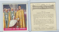 P50-102b Phillips, Coronation Majesties, 1937, #11 Girding on the Sword