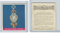 P50-102b Phillips, Coronation Majesties, 1937, #16 King's Royal Sceptre