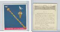 P50-102b Phillips, Coronation Majesties, 1937, #17 Sceptre with the Dove