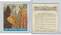 P50-102b Phillips, Coronation Majesties, 1937, #19 Crowning Ceremony
