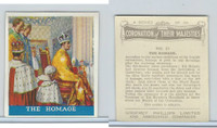 P50-102b Phillips, Coronation Majesties, 1937, #21 Homage