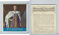 P50-102b Phillips, Coronation Majesties, 1937, #22 Majesty Coronation Robes