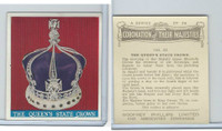 P50-102b Phillips, Coronation Majesties, 1937, #23 Queen's State Crown