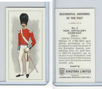 R0-0 Ringtons, Regimental Uniforms, 1960, #2 Hon. Artillery Company