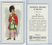 R0-0 Ringtons, Regimental Uniforms, 1960, #11 Black Watch