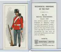 R0-0 Ringtons, Regimental Uniforms, 1960, #12 Royal Engineers