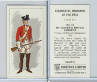 R0-0 Ringtons, Regimental Uniforms, 1960, #18 9th (Queen's Royal) Lancers