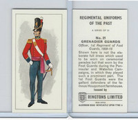 R0-0 Ringtons, Regimental Uniforms, 1960, #21 Grenadier Guards
