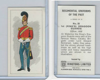 R0-0 Ringtons, Regimental Uniforms, 1960, #22 1st (King's) Dragoon Guards