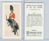 R0-0 Ringtons, British Cavalry, 1971, #6 Royal North Dragoons