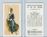 R0-0 Ringtons, British Cavalry, 1971, #20 13th Light Dragoons