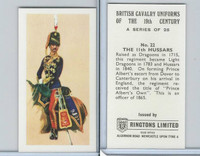 R0-0 Ringtons, British Cavalry, 1971, #22 11th Hussars