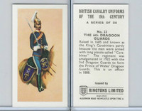 R0-0 Ringtons, British Cavalry, 1971, #23 6th Dragoon Guards