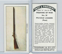 T18-21b Teofani, Past & Present Weapons War, 1938, #29 Muzzle Loader