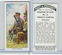 T18-21b Teofani, Past & Present Weapons War, 1938, #32 Trench Mortar