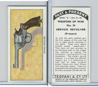 T18-21b Teofani, Past & Present Weapons War, 1938, #34 Service Revolver
