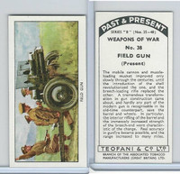 T18-21b Teofani, Past & Present Weapons War, 1938, #38 Field Gun