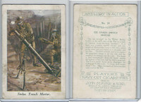 P72-64 Player, Artillery In Action, 1917, #10 Stokes Trench Mortar, WWI