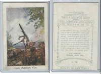 P72-64 Player, Artillery In Action, 1917, #12a Lewis #12 With #11 Back Error