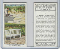 W62-142 Wills, Garden Hints, 1938, #2 Paved Surround for the Garden Seat