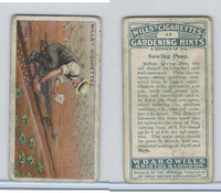 W62-143 Wills, Gardening Hints, 1923, #49 Sowing Peas
