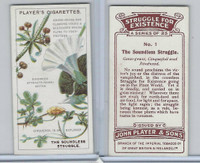 P72-136 Player, Struggle For Existence, 1923, #1 Goose-grass, Cinquefoil