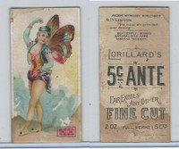 N256 Lorillard, Ancient Mythology Burlesqued, 1893, #13 Therpsicore
