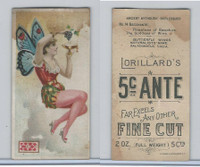 N256 Lorillard, Ancient Mythology Burlesqued, 1893, #14 Becchante
