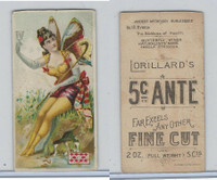 N256 Lorillard, Ancient Mythology Burlesqued, 1893, #18 Hygeia
