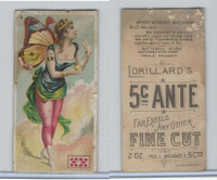 N256 Lorillard, Ancient Mythology Burlesqued, 1893, #22 Atlalanta