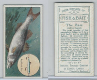 C11 Imperial Tobacco, Fish & Bait, 1924, #35 Bass