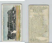 W62-198 Wills, Railway Engines, 1936, #18 Heavy Freight Locomotive