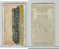 W62-198 Wills, Railway Engines, 1936, #24 Heavy Freight Locomotive