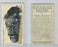 W62-198 Wills, Railway Engines, 1936, #26 Express Locomotive