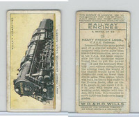 W62-198 Wills, Railway Engines, 1936, #28 Heavy Freight Loco