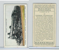 W62-198 Wills, Railway Engines, 1936, #40 Express Locomotive