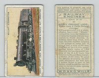 W62-198 Wills, Railway Engines, 1936, #50 Heavy Freight Loco