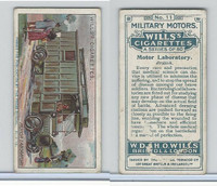W62-88 Wills, Military Motors, 1916, #11 Motor Laboratory