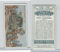 W62-88 Wills, Military Motors, 1916, #14 Motor Searchlight