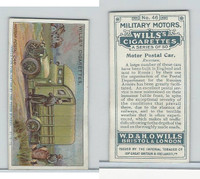 W62-88 Wills, Military Motors, 1916, #46 Motor Postal Car