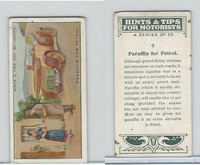 B116-0 BAT, Hints & Tips Motorists, 1929, #9 Paraffin for Petrol