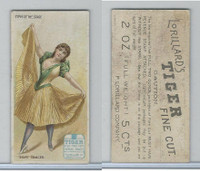 N259 Lorillard, Types of the Stage, 1893, Skirt Dancer