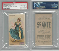 N259 Lorillard, Types of the Stage, 1893, Soubrette, PSA 4.5 VGEX+