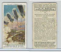 W62-191 Wills, Air Raid Precautions, 1938, #46 Balloon Barrage