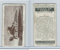 C82-61 Churchman, Kings of Speed, 1939, #37 Geoffrey Holt