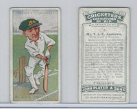P72-83 Player, Cricketers Caricatures, 1926, #2 T.J.E. Andrews, New South Wales