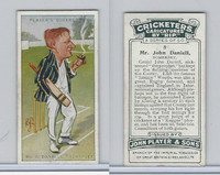 P72-83 Player, Cricketers Caricatures, 1926, #8 John Daniell, Somerset