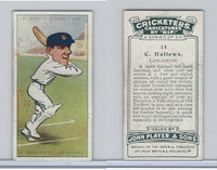 P72-83 Player, Cricketers Caricatures, 1926, #14 C. Hallows, Lancs